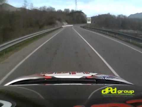 Il rally dalla Camera Car