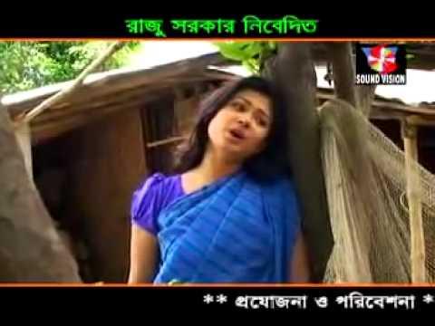Miss liton bangla Folk song 2015   kemon kore thaki eka   YouTube