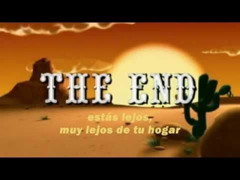Lucky Luke canción final con subtítulos en Español Castellano