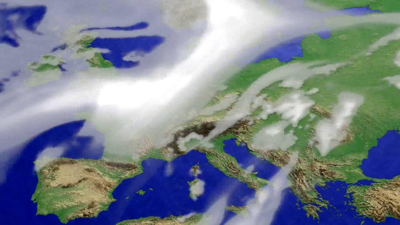 Cloud forecast Europe 2016-06-17