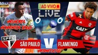 Minuto a minuto do jogo São Paulo x Flamengo ao vivo pela 28ª rodada do Campeonato Brasileiro 2016.