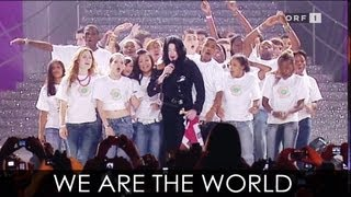 Michael Jackson - We Are The World (London)
