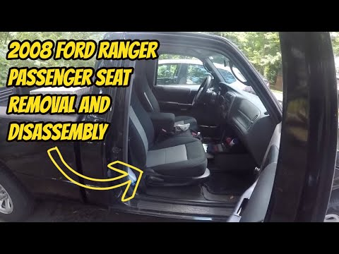 2008 Ford Ranger Passenger Seat Removal and Disassembly