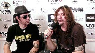 Skid Row - Interview Rachel Bolan & Snake - Hellfest 2014