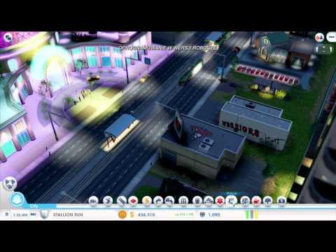 Główny projektant gry SimCity, Stone Librande, opowiada o strategii budowania miasta na przykładzie stworzonego przez siebie miasta hazardu. Pokazuje również jak współpracuje sieć powiązanych miast.