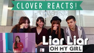 Video [MV REACTION Spanish] OH MY GIRL - Liar Liar || CLOVER Reacts! MP3, 3GP, MP4, WEBM, AVI, FLV Juli 2018