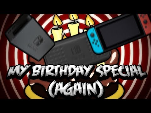 MY BIRTHDAY SPECIAL (AGAIN) [UNBOXING THE NINTENDO SWITCH CONSOLE + CASE]