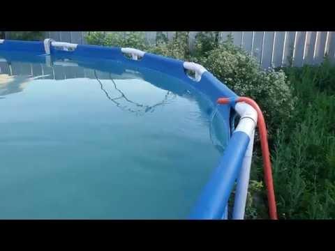 Как сделать чтобы вода в бассейне быстро нагревалась