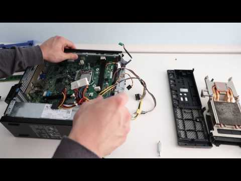 Disassembly Dell OptiPlex Small Form Factor PC- Upgrade Ram & SSD