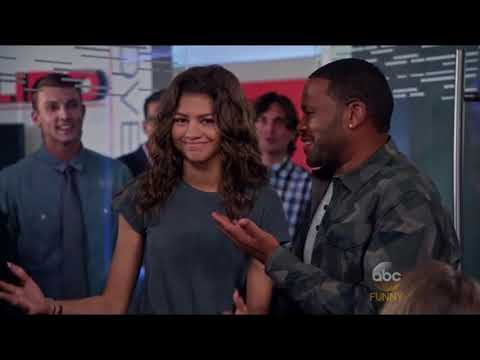 all Zendaya moments in blackish