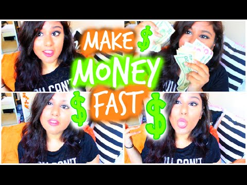 How to Make Money FAST as a Teen! 2014