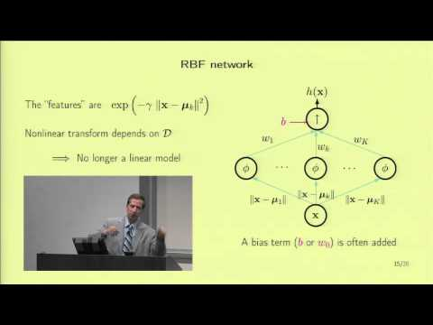 Lecture 16 - Radial Basis Functions