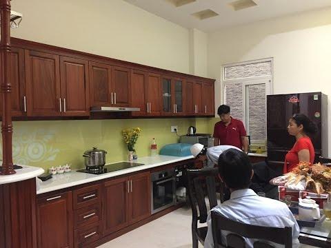 Nội thất Bếp ăn nhà ở gia đình | Kiến trúc phòng bếp nhà phố