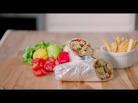 African Style Chicken Shawarma Recipe