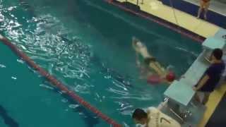 Соревнования по прикладному плаванию 2015 (видео №7)
