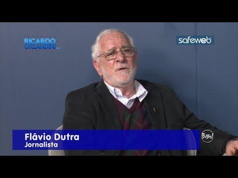 """Ricardo Orlandini entrevista o jornalista Flávio Dutra, falando sobre seu novo livro de crômicas, """"A Maldição de Eros"""""""