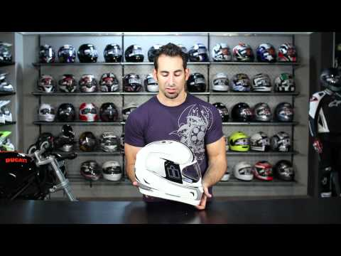 Icon Alliance Reflective Helmet Review at RevZilla.com