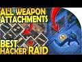 ALL WEAPON ATTACHMENTS + STATS - BEST HACKER RAID YET! - Last Day On Earth Survival Update 19