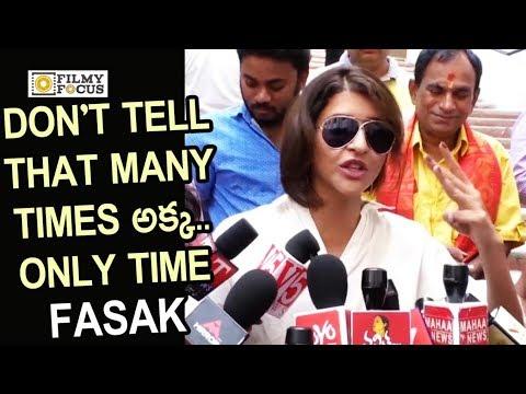 Manchu Lakshmi Fasak Video : Manchu Lakshmi Casting Vote in Telangana Elections 2018