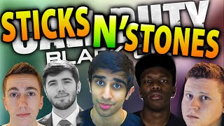CoD Black Ops 2 Wager Match #10 with Vikkstar (CoD Sticks & Stones)