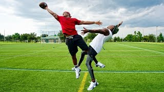 EXPOSED! I DON'T OWN MY ANKLES ANY MORE.. (DB vs. WR 1ON1)