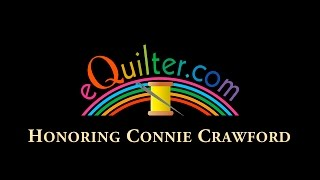 Luana Rubin honors Connie Crawford, teacher and pattern maker.