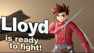 (Fan-made) Smashified Lloyd Irving Speedpaint