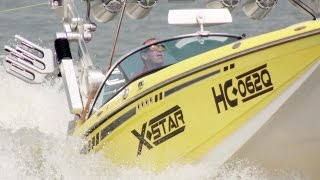 Contest Driving Pro-Wake setup in Harley Cliffords X-star