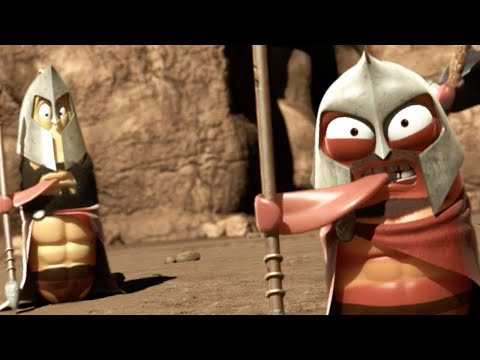 LARVA - LARVA SPARTANS - LARVA 300 | Cartoons For Children | Larva Cartoon || Larva Animation