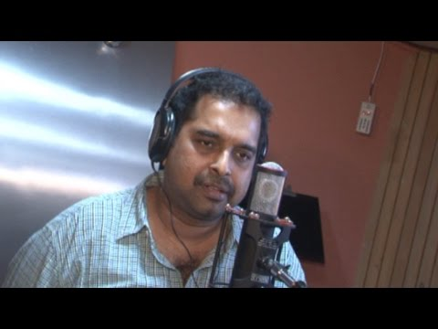 Song Recording With Shankar Mahadevan For Movie Candle March