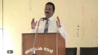 Lecture by Dr Sam Abraham, Chairman-Kodaikanal Christian College