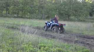 10. Polaris sportsman 400 H O 2013