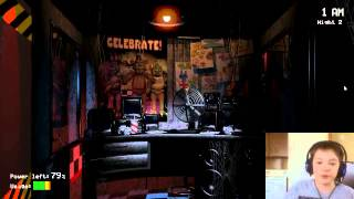 Tayson Moore Plays Five Nights At Freddy 1