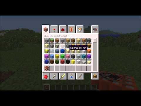 comment poser un bloc dans minecraft