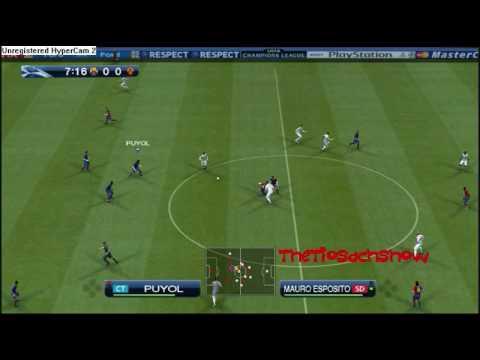 PES 2009 – UEFA Champions League FC Barcelona vs. Roma