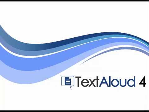 Getting Started with TextAloud 4 (2018)