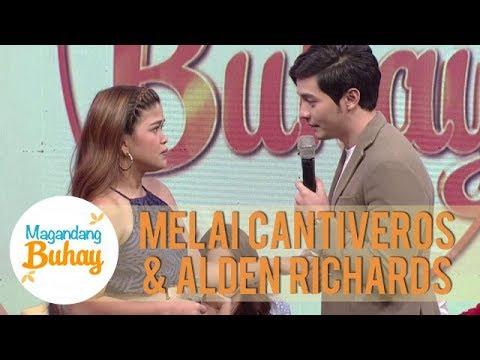 Alden and Melai reenact a scene from 'Hello, Love, Goodbye' | Magandang Buhay
