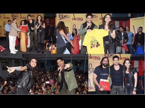 Sidharth Malhotra & Rakul Preet Singh At Alegria The Festival Of Joy 2018