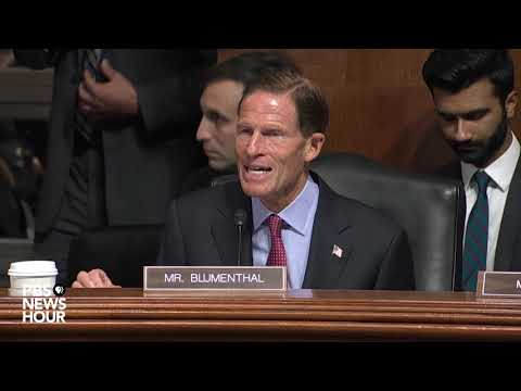 The U.S. deserves the best Supreme Court nominee. Brett Kavanaugh is not it, Blumenthal says