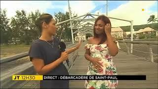 Isabelle Allane rencontre la chanteuse de séga Missty