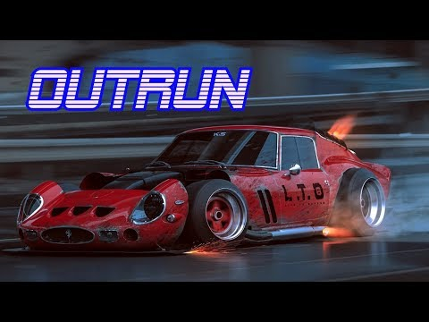 'OUTRUN' | Best of Synthwave And Retro Electro Music Mix for 1 Hour | Vol. 4