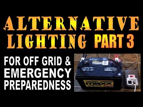 alternative - Part 3 showing numerous alternatives for when the grid goes down. Royalty free audio files provided by www.audiomicro.com and Footage Firm which I am fully licensed for.