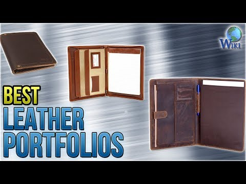 10 Best Leather Portfolios 2018