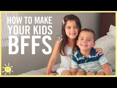How to Make Your Kids BFF's! (видео)