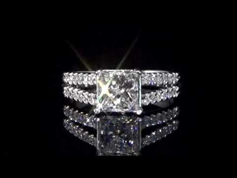 經CGL鑑定1.52克拉鑽石戒指