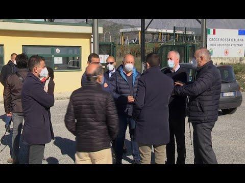 Comune di Avezzano - Richiesta per l'allestimento di un ospedale da campo