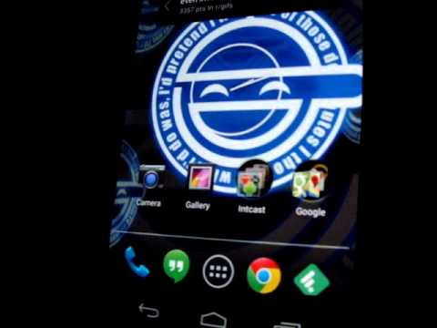 Video of Laughing Man Live Wallpaper