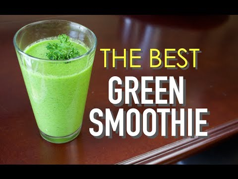 The Best Green Smoothie Recipe | With the Health Master
