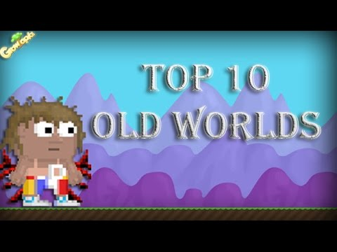 Growtopia - Top 10 Old Worlds
