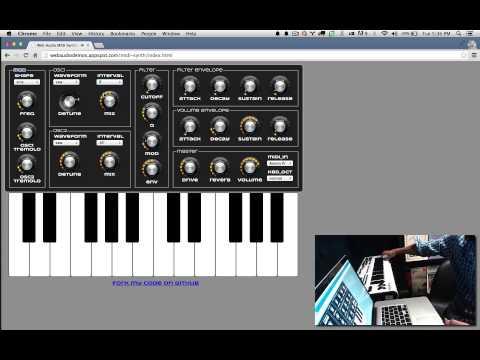 Web MIDI by Sam Dutton